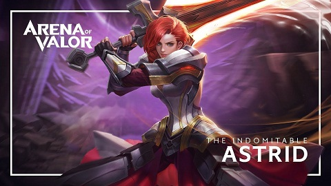 how to play Astrid AOV
