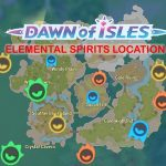 All Down of Isles Elemental Spirit Location (35/52)