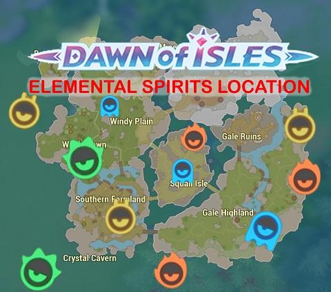 Elemental Spirit Location