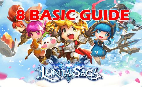 Lumia Saga Basic Guide