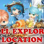 All Lumia Saga Explore Location