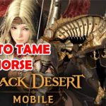 How to Tame Horse in BDM