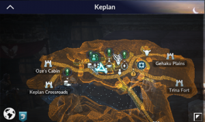 BDM Knowledge Locations in Southeast Calpheon