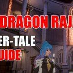 Dragon Raja Silver Tale/Anecdote Guide