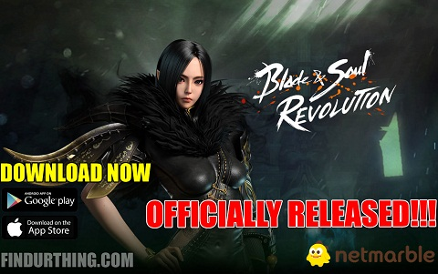 Blade and Soul revolution available now