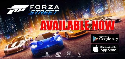 Forza Street is Available Now