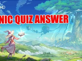 Legend of Neverland Scenic Quiz