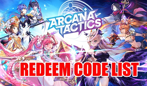 Arcana Tactics redeem code