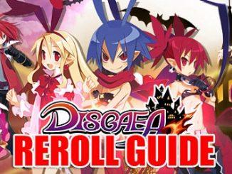 Disgaea RPG reroll guide