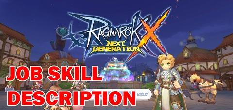 Ragnarok X Skill Description
