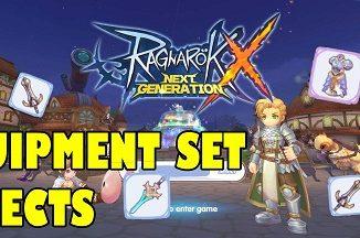 Ragnarok X Equipment Set Effect